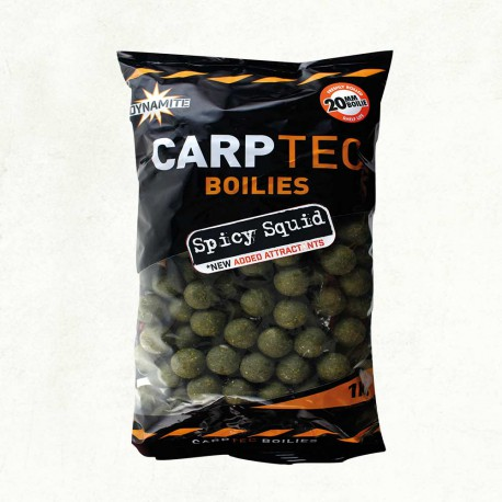 Dynamite Baits CarpTec Boilies Spicy Squid 1 kg