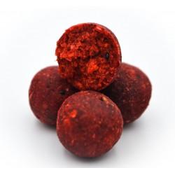 Massive Baits Top Shelf Strawberry-Bergamota Boilies 1 kg