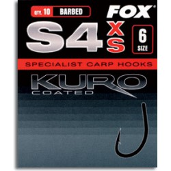 Haki karpiowe Fox Kuro S4 XS Coated