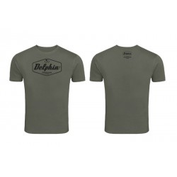 T-shirt Delphin Czechoslovakia Fishing Green