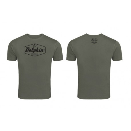 T-shirt Delphin Green