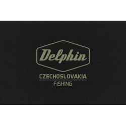 Bluza z kapturem Delphin Czechoslovakia Fishing Black
