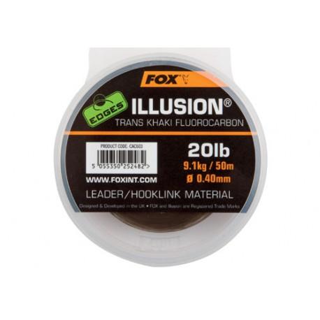 Fox Edges Illusion Fluorocarbon Trans Khaki