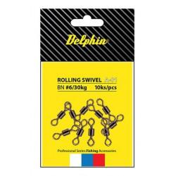 Delphin Rolling Swivel A-01