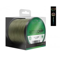 Fin Record Carp Main Line Green 300m