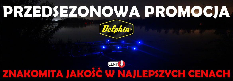 Przedsezonowa promocja produktów karpiowych Delphin w sklepie wędkarskim Carpmix.pl