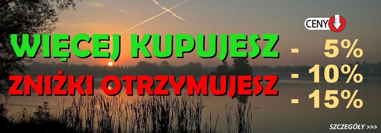 Noworoczne promocje w sklepie wędkarskim Carpmix.pl